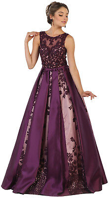 A-LINE RED CARPET FORMAL EVENING PAGEANT DRESS SPECIAL OCCASION PROM QUEEN GOWNS - Red Queen Dress