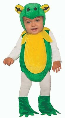 Infant Toddler Baby Frog Fresh Froggie Animal Costume