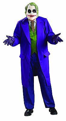 Joker Halloween Comic (Rubies Deluxe Joker Batman Dc Comics Adult Mens Halloween Costume)