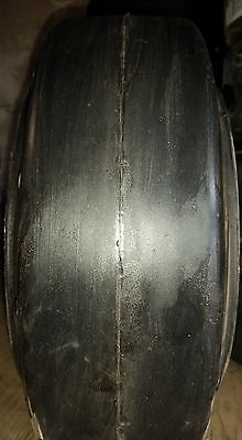 2-tires 14x4-12x8 Tires Super Solid Forklift Press-on Smooth Usa Made 144128