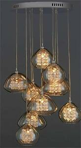 NEXT Bella 10 Light Cluster Pendant Ceiling Lighting