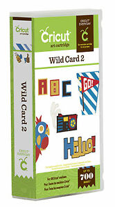 Cricut-Wild-Card-2-Cartridge-Brand-New