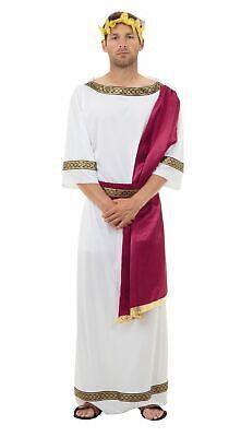 Dio Greco - XL, Toga Romana Festa, Costume Travestimento da Uomo