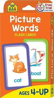 Alphabet Picture Flash Cards First Words Learning Baby Child Card Letters Learn - Alphabet Flash Cards