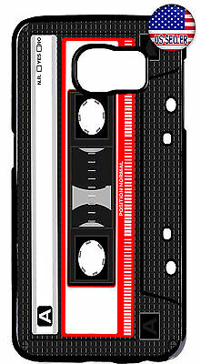 - Cassette Tape Retro Vintage New Case Cover For Samsung Galaxy S9 S8 Plus S7 Edge
