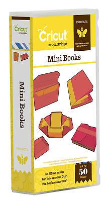 *New* MINI BOOKS Notebook Journal Cricut Cartridge Factory Sealed Free Ship