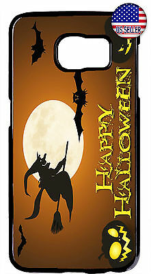 Halloween Witch Pumpkin Scary Case Cover For Samsung Galaxy S10e S10+ S9 Plus S8 - Scary Halloween Pumpkin Patterns