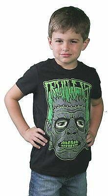 Iron Fist Black Little Boy's Cranky Frank Zombie Monster Kids Youth T-Shirt 4-5](Little Boy Zombie)