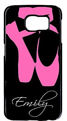 Personalized Name Ballet Ballerina Dancer Cover Samsung Galaxy S9 Plus Note - Ballerina Personalized Note