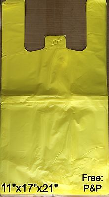 YELLOW VEST CARRIER BAGS (850x APPROX) 11