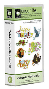Cricut Lite Celebrate with Flourish Cartridge 2000173