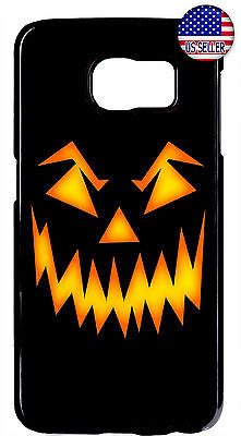 Halloween Pumpkin Scary Rubber Case Cover Samsung Galaxy S10e S10 + S9 Plus S8 - Scary Halloween Pumpkin Patterns
