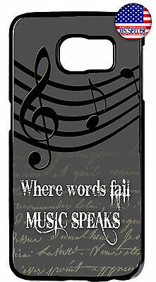 7 Music Notes (Music Note Sign Slim Rubber Case Cover For Galaxy S10e S10 + S9 Plus S8 Plus)