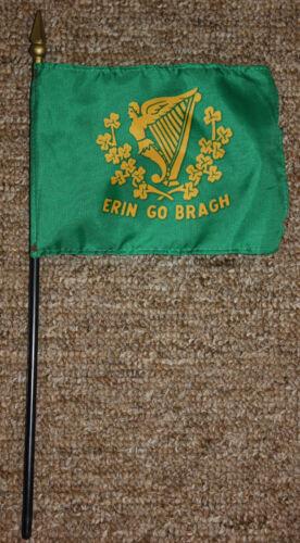 Erin Go Bragh desk / table flag with spear point - Ireland - Irish