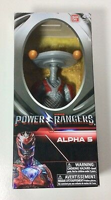 Sabans Mighty Morphin Power Rangers Movie 2017 Alpha 5 MMPR Figure Bandai