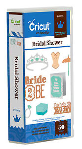 Cricut Bridal Shower Events Cartridge 2001291
