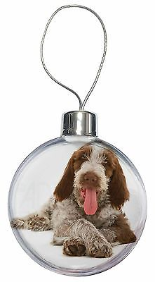 Italian Spinone Dog Christmas Tree Bauble Decoration Gift, AD-SP2CB
