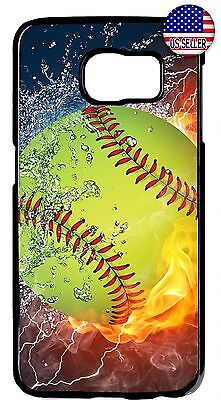 New Softball Theme Sport Fan Case Cover For Galaxy S8 S9 Plus S7 Edge Note 9 8 - Galaxy Themes