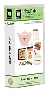 Cricut Lite Love You a Latte Cartridge 2001003