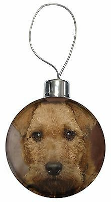 Lakeland Terrier Dog Christmas Tree Bauble Decoration Gift, AD-LT2CB