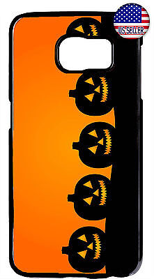 Halloween Pumpkin Design Case Cover For Samsung Galaxy S9 S8 Plus S7 Edge Phone