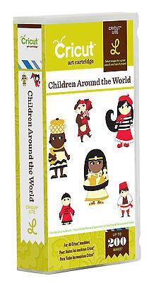 CRICUT *CHILDREN AROUND THE WORLD* CARTRIDGE *NEW* CUSTOMES, LANDMARKS, ANIMALS (Landmarks Around The World)