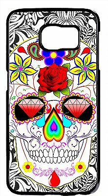 Sugar Skull Art Day Of Dead Scary Case Cover Samsung S6/Edge S5 S4 S3 Note 2 3 - Scary Sugar Skull