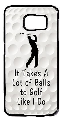 Golf Ball Sport Quote Funny New Design Case Cover For Samsung Galaxy S6 S7 -