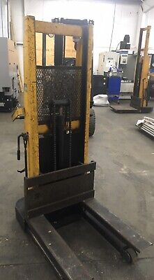 Big Joe Battery Electric Lift Truck 1500 Lb Cap. Die Cart Portable Elevator