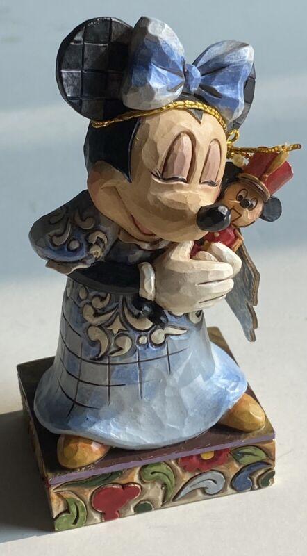 Jim Shore Disney Traditions Showcase Minne Mouse  Marie Nutcracker Enesco RARE