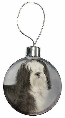 Tibetan Terrier Dog Christmas Tree Bauble Decoration Gift, AD-TT3CB