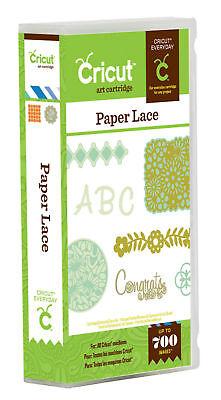 *New* Cricut PAPER LACE *SALE* Font Letter Cartridge Factory Sealed Free Ship ()
