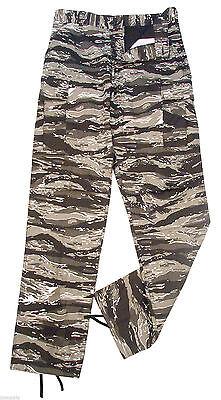 bdu pants camo urban tiger stripe military style fatigues rothco  SIZES XS TO 2X