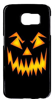 Halloween Pumpkin Horror Design Skin Case Cover For Samsung Galaxy S6 S7 Edge
