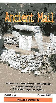 ANCIENT MAIL Nr. 66 - Die Megalith-Bauwerke Menorcas aus radiästhetischer Sicht