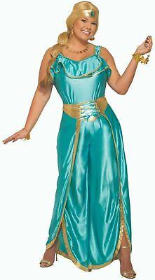 Desert Princess Harem Girl Costume Belly Dancer Womens - Genie Girl Kostüm