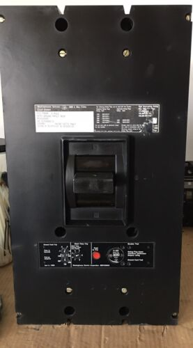 Pcg33000f Westinghouse Circuit Breaker, Ground Fault Trip, 3000amp