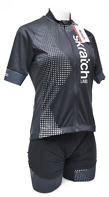 Donkey Label Women s skratch LABS SS Cycling Kit LARGE Black Road Mountain  Bike 78afb2372