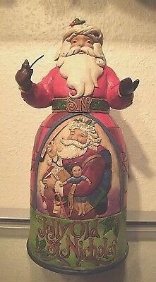 Jim Shore Santa Jolly Old St.Nicolas NEUHEIT 2014 Weihnachtsmann Heartwood Creek