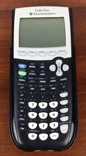 Texas InstrumentsTI-84 Plus Graphing Scientific Calculator Black Tested Working