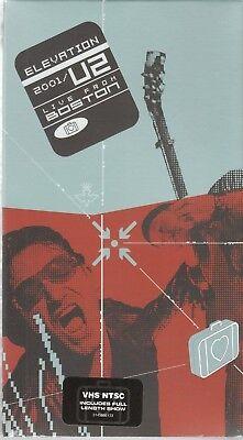 U2 - Elevation / Live From Boston 2001 (VHS, 2001) NEW/SEALED comprar usado  Enviando para Brazil