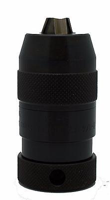 Rohm Supra-i Heavy Industrial Keyless Drill Chuck 0 - 14 Capacity 38-24 Mount