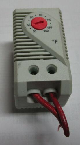 Stego 11409NC 01140.9-00 32-140f 120/250v-ac Small Compact Thermostat USEDCUTOUT