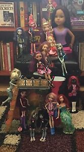 Monster High and Ever After High Dolls and Accessories