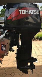 50hp Tohastu outboard motor Forest Lake Brisbane South West Preview