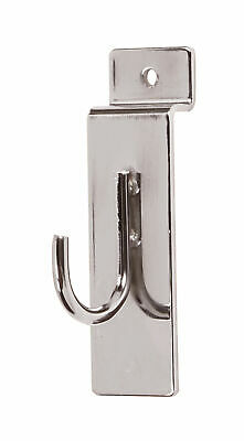 Chrome Display Hook For Slatwall - Pack Of 50