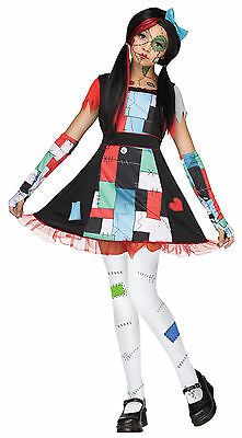 Child Broken Rag Doll Girls Costume - Girls Broken Doll Costume