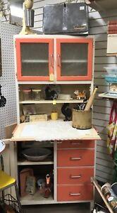 Vintage Hoosier Style Kitchen Cabinet