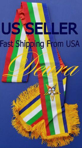 Masonic Order of the Eastern Star OES O.E.S SASH