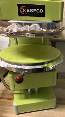 Xebeco Univex Green Sspz40 Pizza Spinner Dough Spreader Stretcher Two Sizes Incl